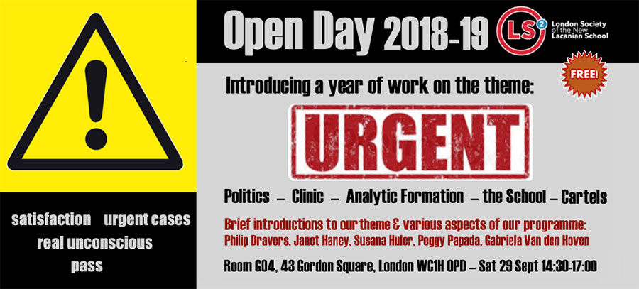 London Society Open Day (2018-2019)