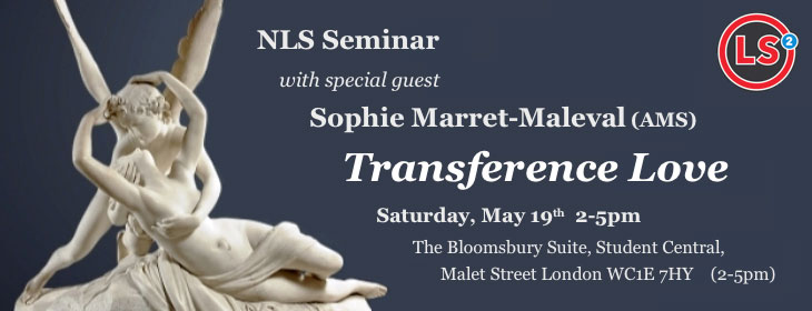 NLS Seminar – with Sophie Marret-Maleval